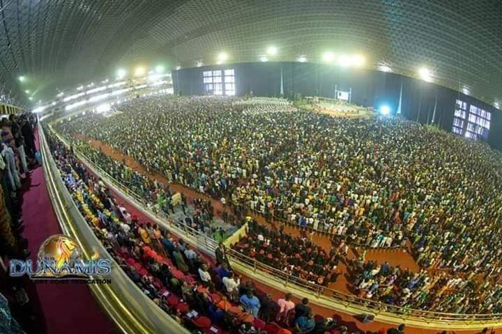 Dunamis Live Service Broadcast at Glory Dome 9 December 2018
